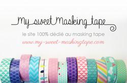Carte de visite My Sweet Masking tap