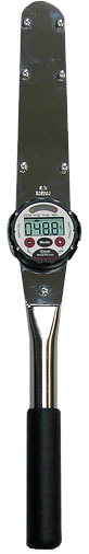 Electronic rotating display torque wrench