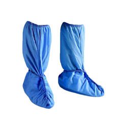 Non-skid Knee-high Shoe Covers