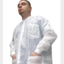Disposable White Lab Coat