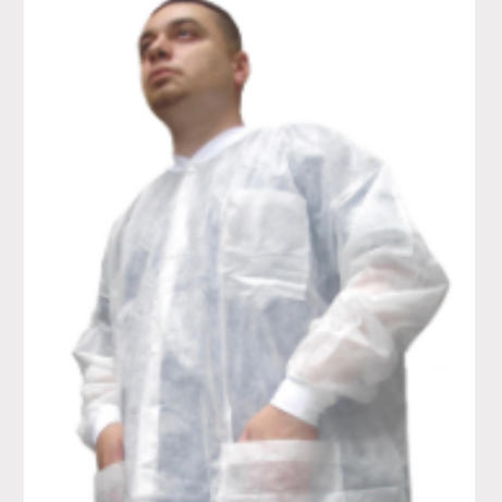 Disposable White Lab Coat