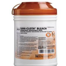 PDI Sani-Cloth Bleach Wipes - 75ct