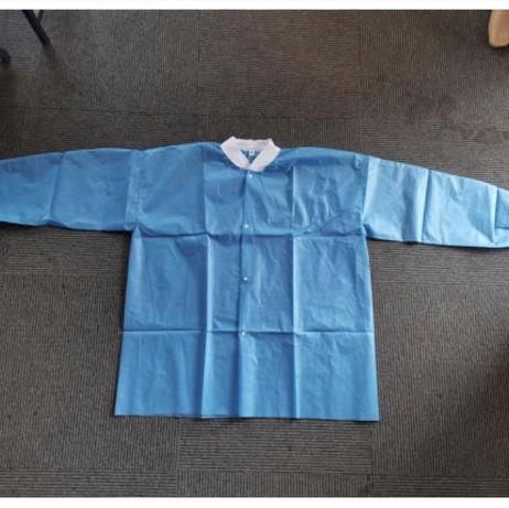 Disposable Blue Lab Coat