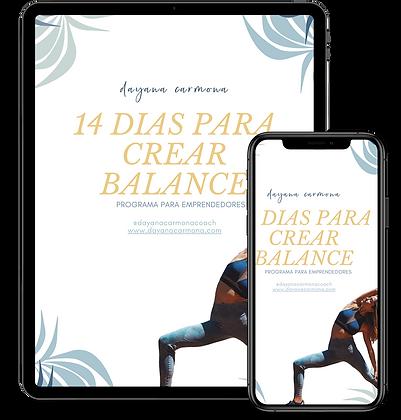 14 Dias Para Balance (sin meditaciones)