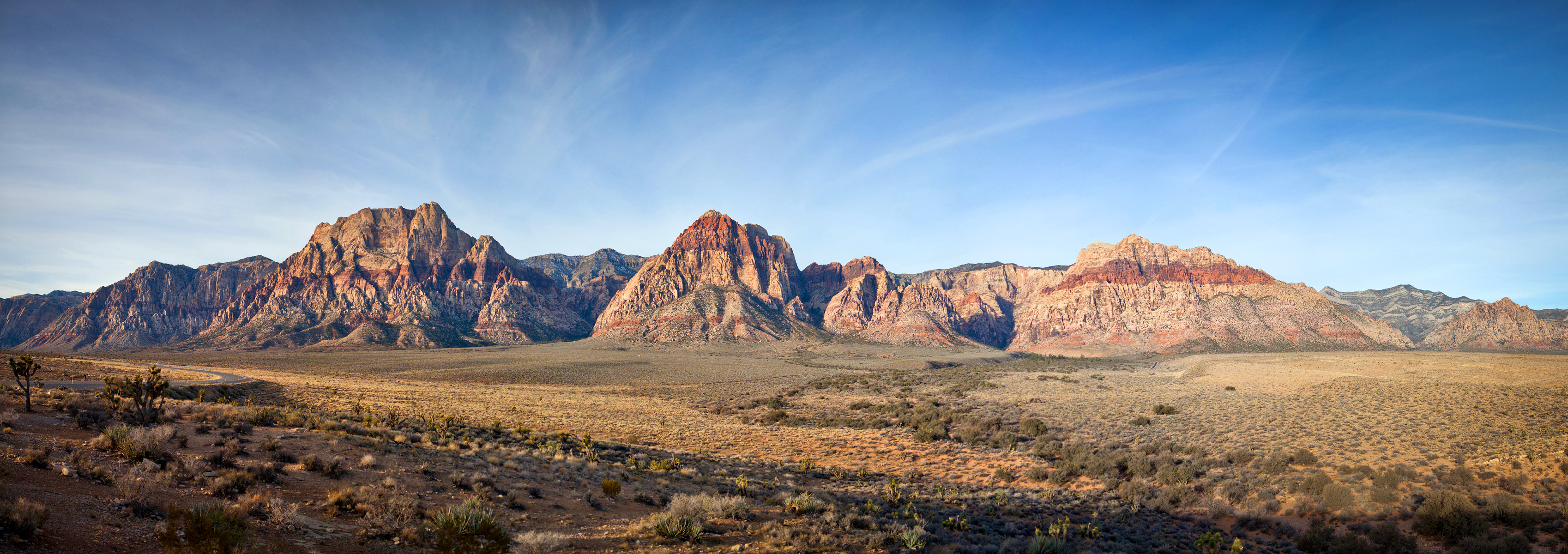 Red Rock Canyon Panoramic
