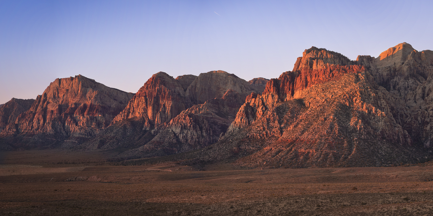 Red Rock Canyon - Sunrise