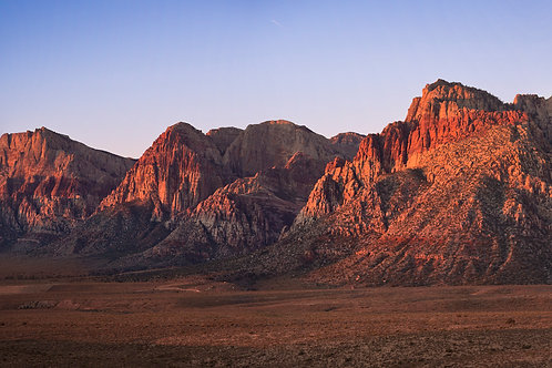 Red Rock Sunrise Panoramic