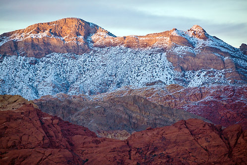 Layers of Red Rock