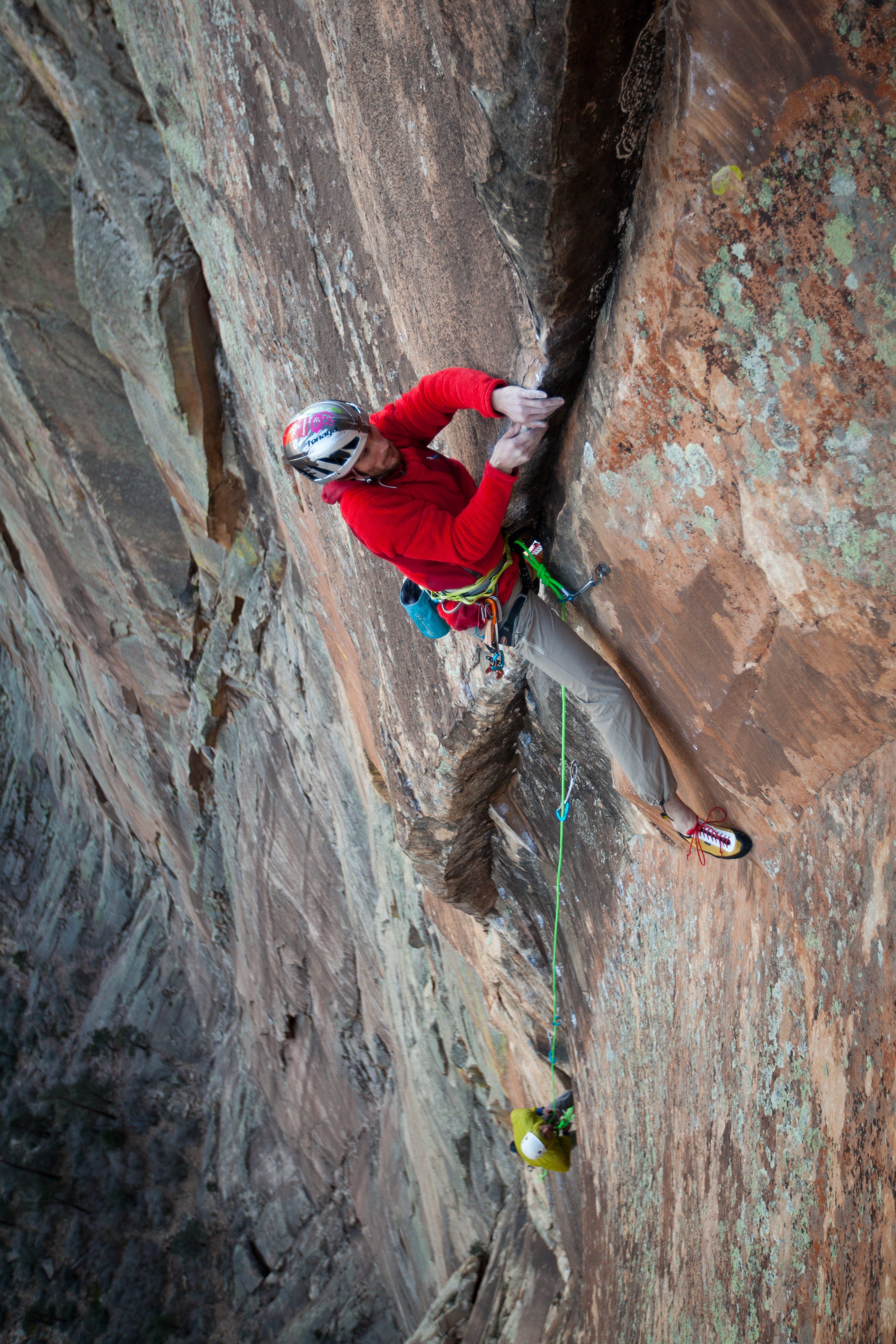Rainbow Country 5.12d