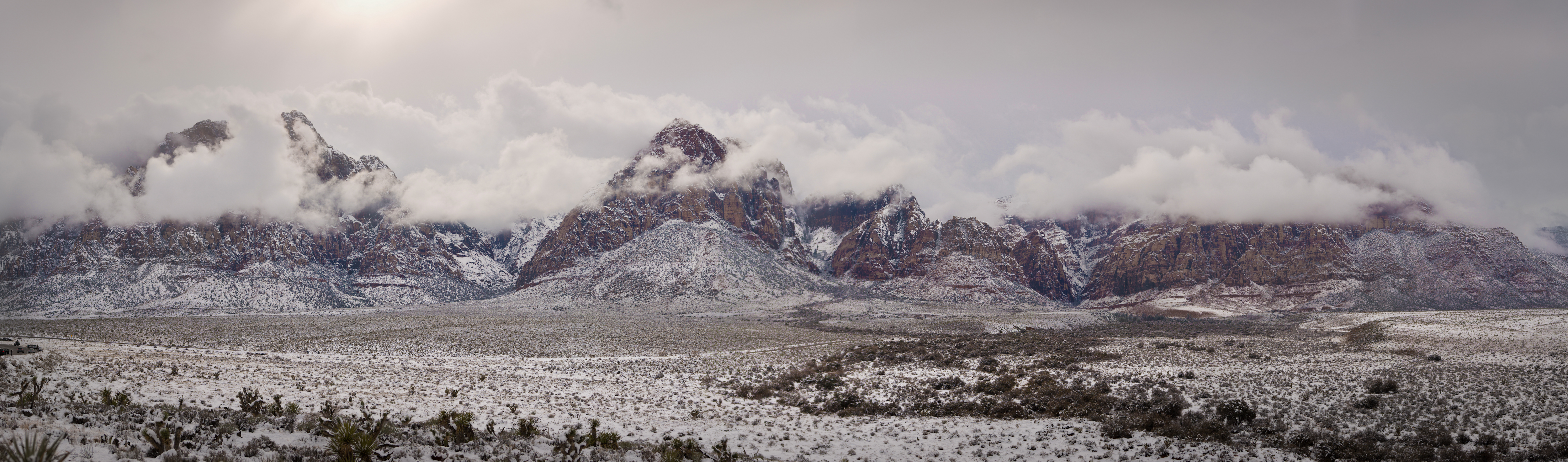 Red Rock Canyon - Winter Storm