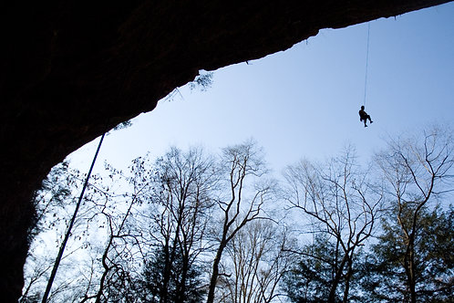 Red River Gorge Silouette