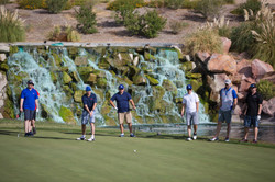 Golfers at the New Vista Fundraiser