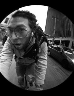 Self Portrait on Bike