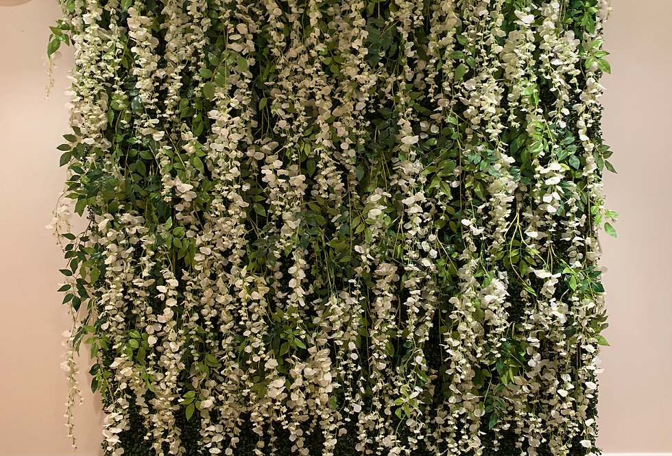 Greenery Wall - Full Wall Wisteria Topper