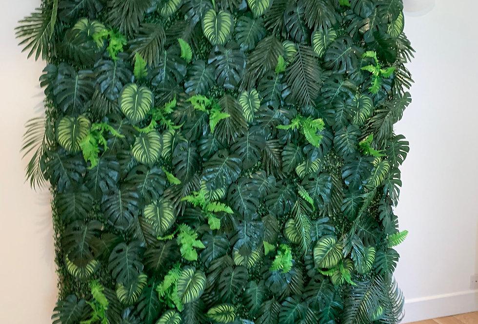 Tropical Foliage Wall - Classic