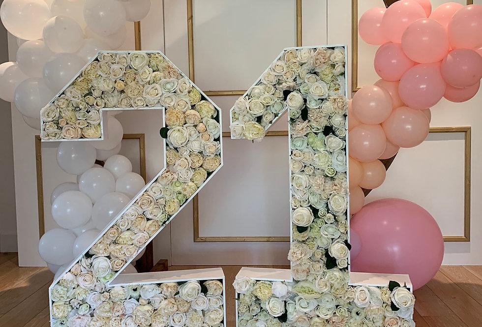 21st Floral Number