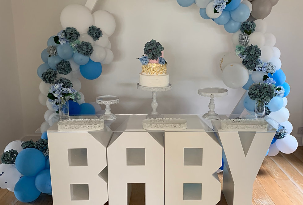 Geo Baby Shower Package