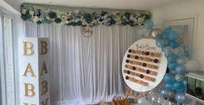 BABY SHOWER: A blue themed Baby Boy Shower