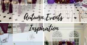 SPECIAL EVENTS: How to create an Autumnal Colour Scheme