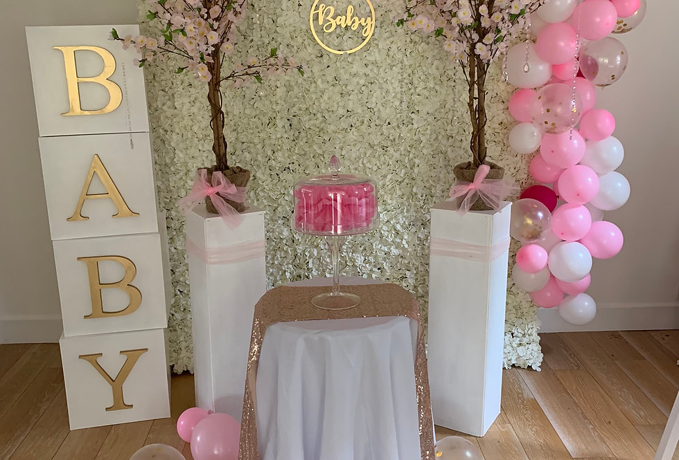 Lily Baby Shower Package