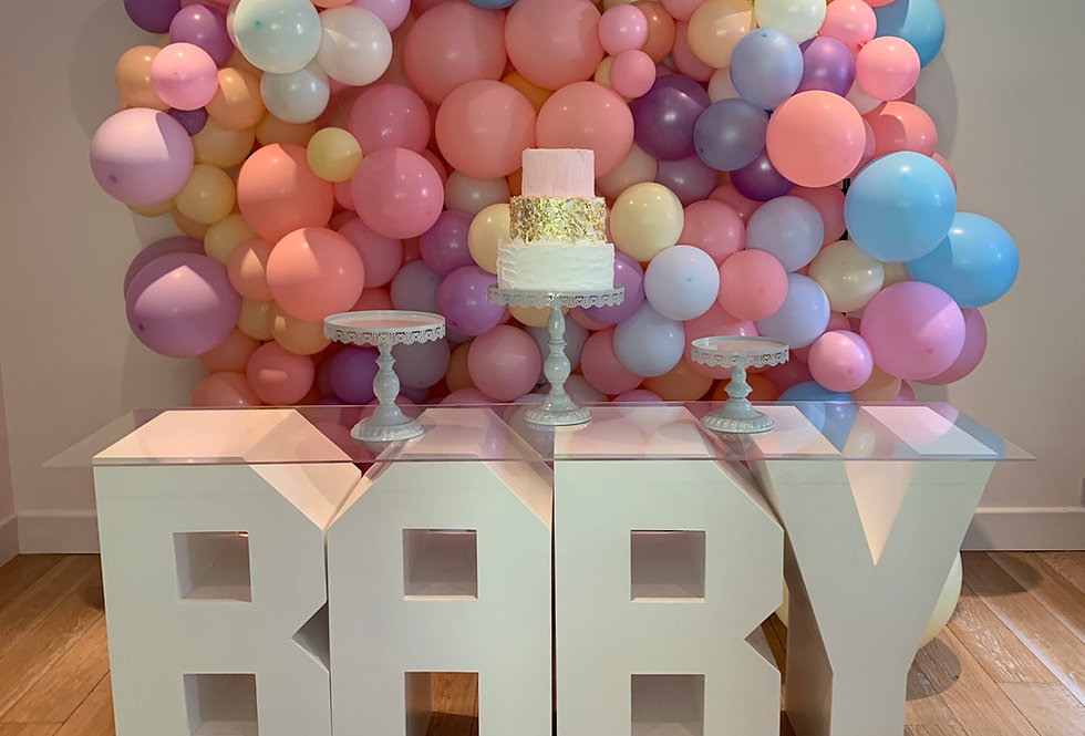 Baby Letter Table