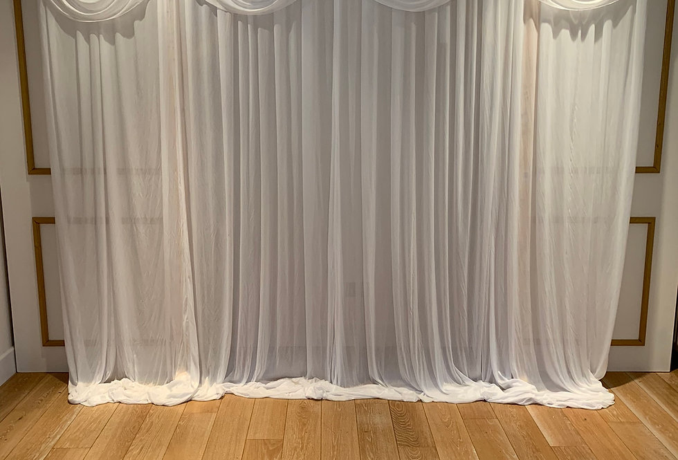 Fabric Drape Backdrop