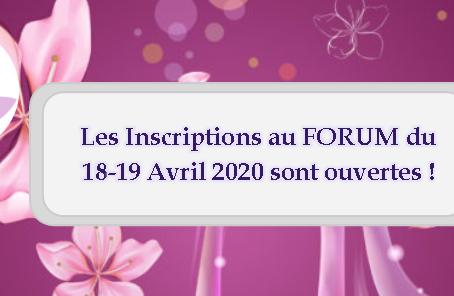 Forum Enelph : 18-19 avril 2020
