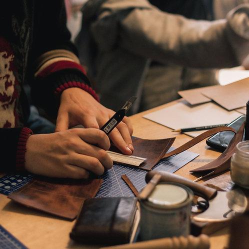 Curso on-line individual de Trabalho em Couro