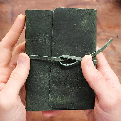 Caderno Ornamentado Verde