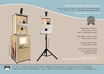 Fotobox Photobooth für Hochzeit Geburtstag Feste Party