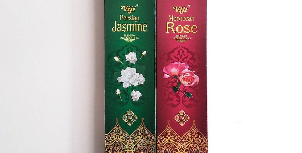 Varillas de Jazmín o Rosa
