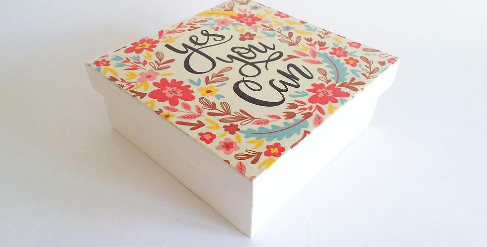 Cajas artesanales en Decoupage