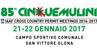 85^ Cinque Mulini - Save the date