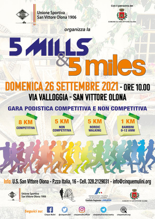 5Mills&5Miles - STAY TUNED!