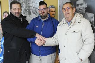 CINQUE MULINI: Incontro tra Marco e Walter nella sede della Sportiva