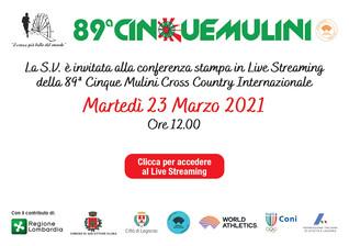 89^ Cinque Mulini - Conferenza Stampa di presentazione