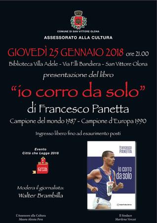 Francesco Panetta il 25 Gennaio A San Vittore Olona