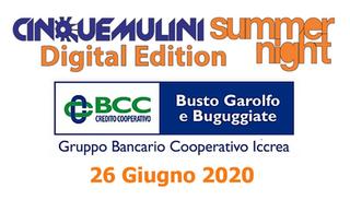 Cinque Mulini Summer Night 2020 - Digital Edition - Ringraziamenti