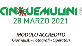 89^ Cinque Mulini - Accredito Media