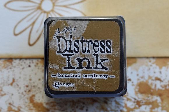 Distress Brushed corduroy