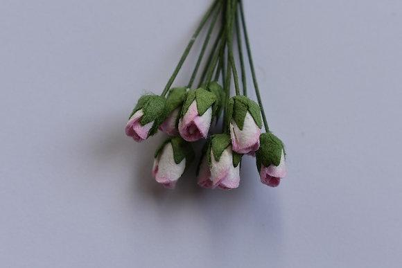Boutons de rose (x10)