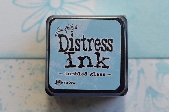 Distress Tumbled glass
