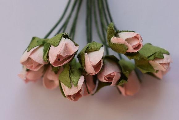 Boutons de rose (x12)