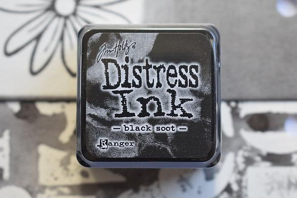 Distress Black soot