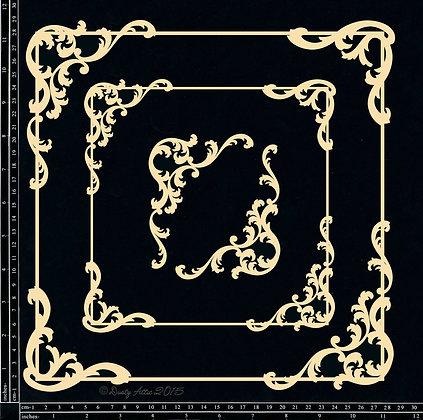 Baroque Frame Set - Square
