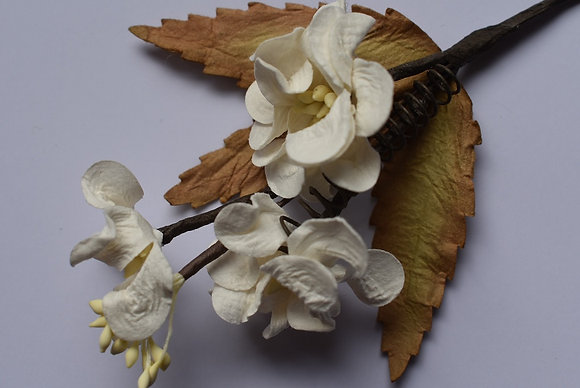 Branche fleurie 15 cm