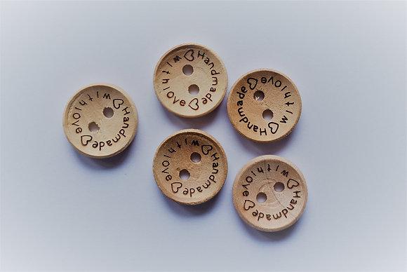 Boutons Handmade x5
