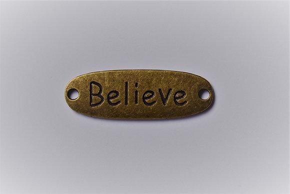 Plaque Believe