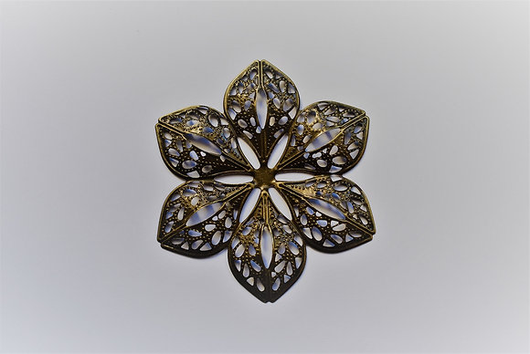 Fleur métal