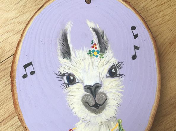 Singing Llama Decoration
